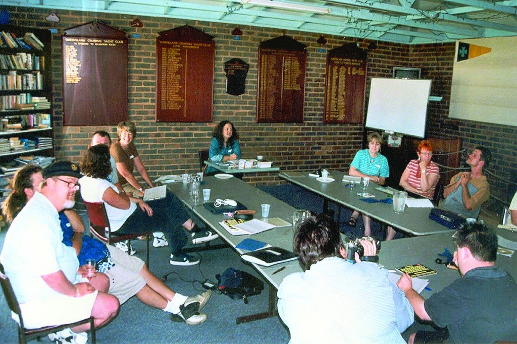 A Krissy's first workshop 2003